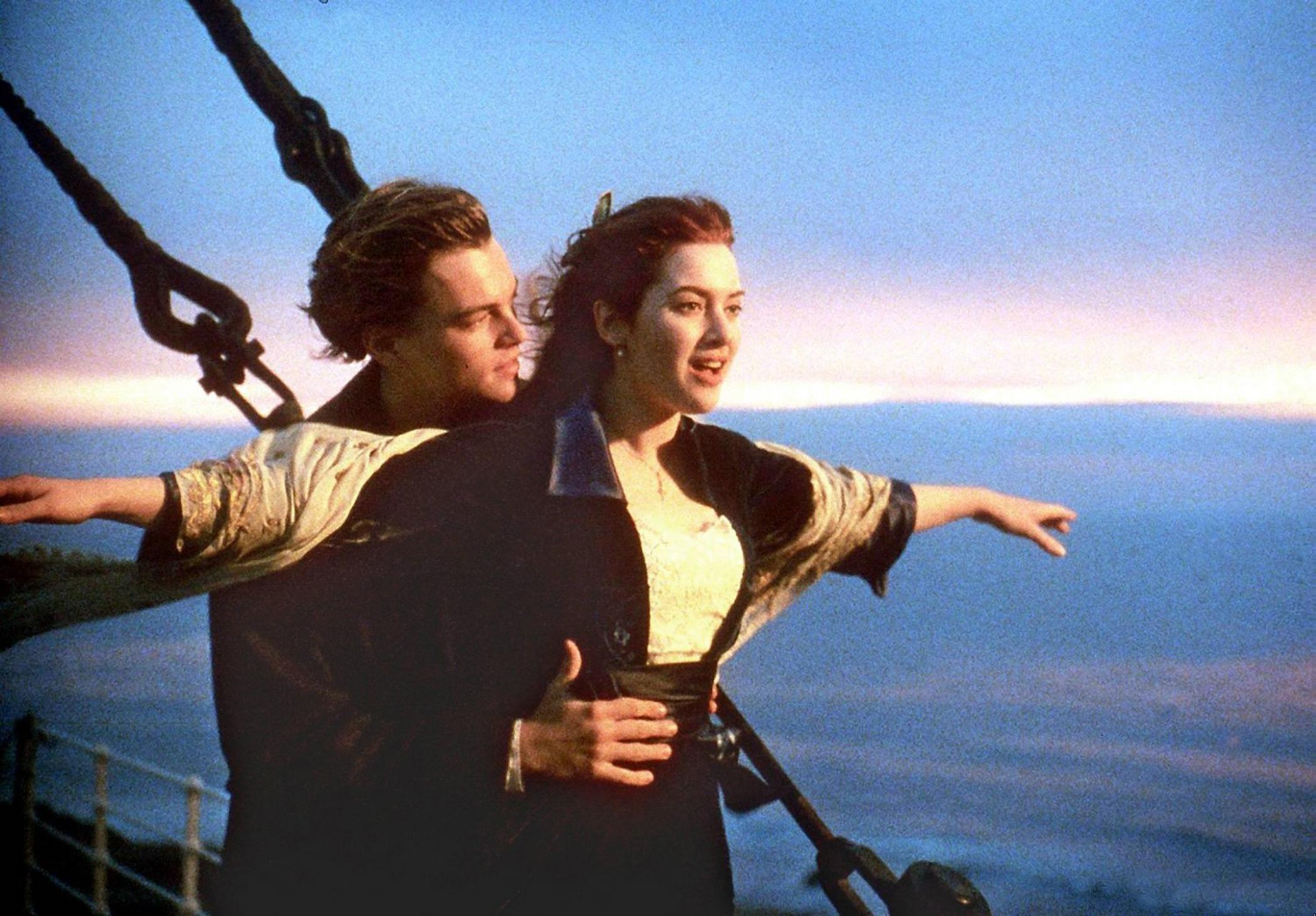 Rose DeWitt Bukater in Titanic, 1997.