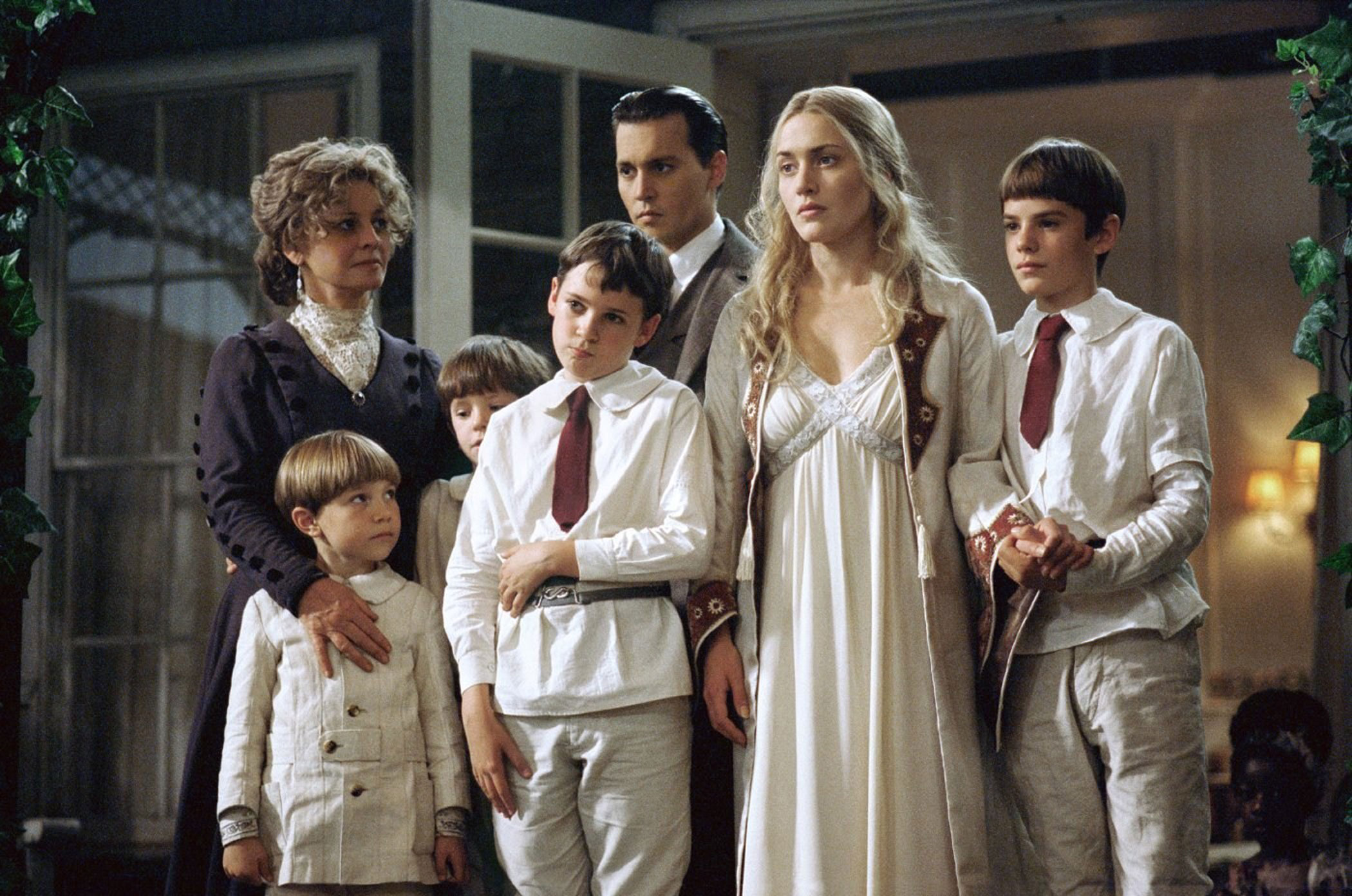 Sylvia Llewelyn Davies in Finding Neverland, 2004.