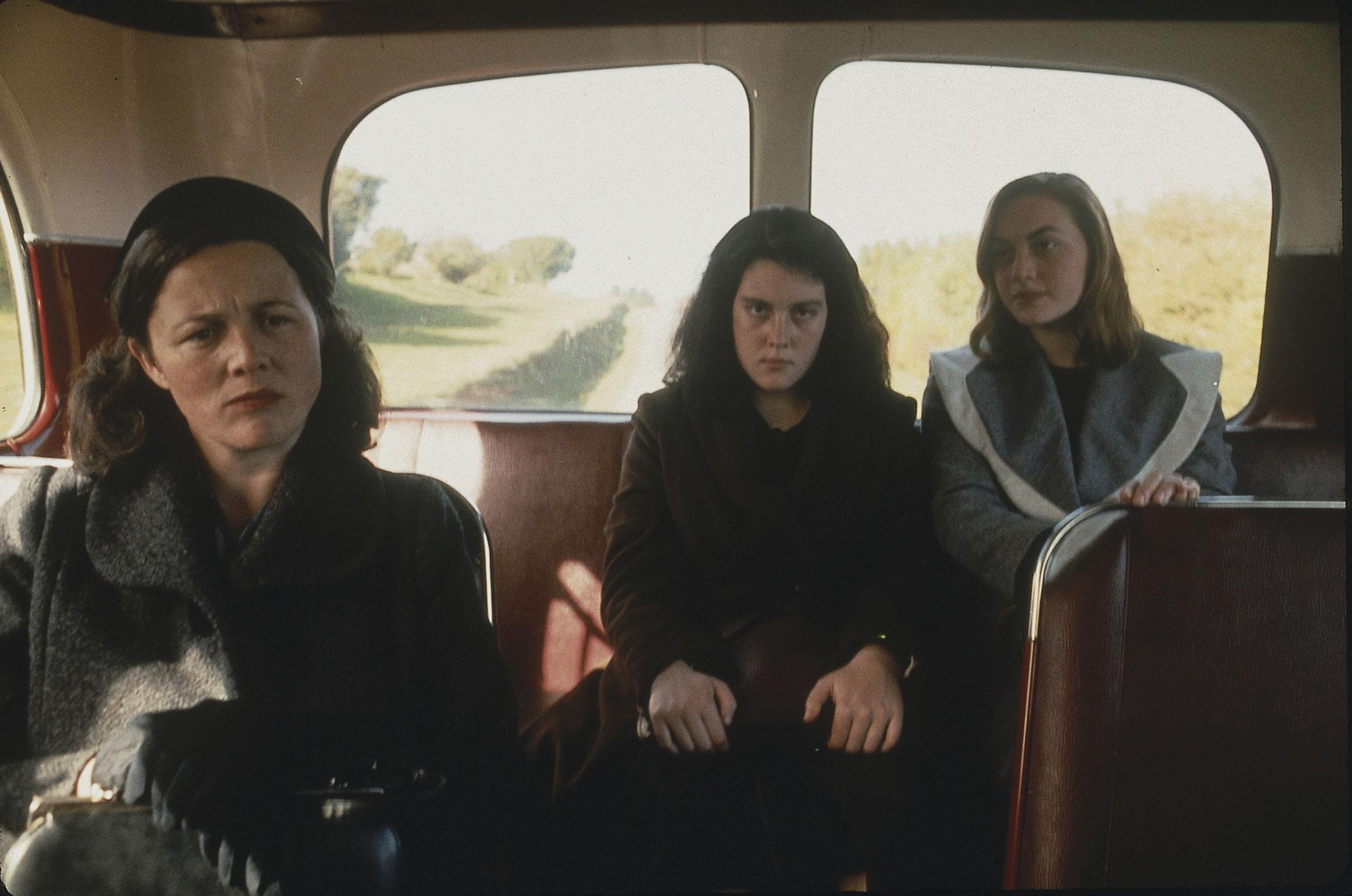 Juliet Hulme in Heavenly Creatures, 1994 (far right).