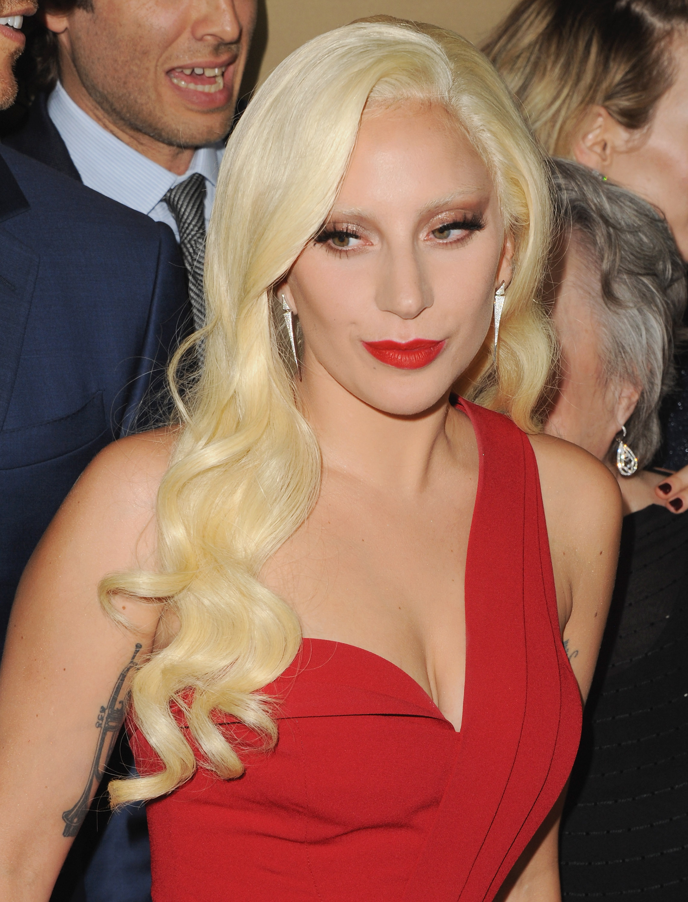 Lady Gaga at the Premiere Screening Of FX's American Horror Story: Hotel  on Oct. 3, 2015 in Los Angeles.