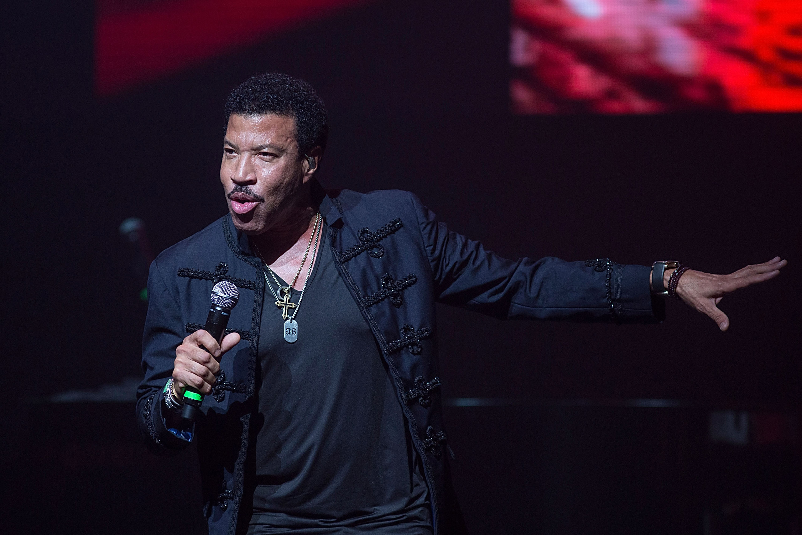 Lionel Richie performs in concert at ACL Live in Austin on October 24, 2015.