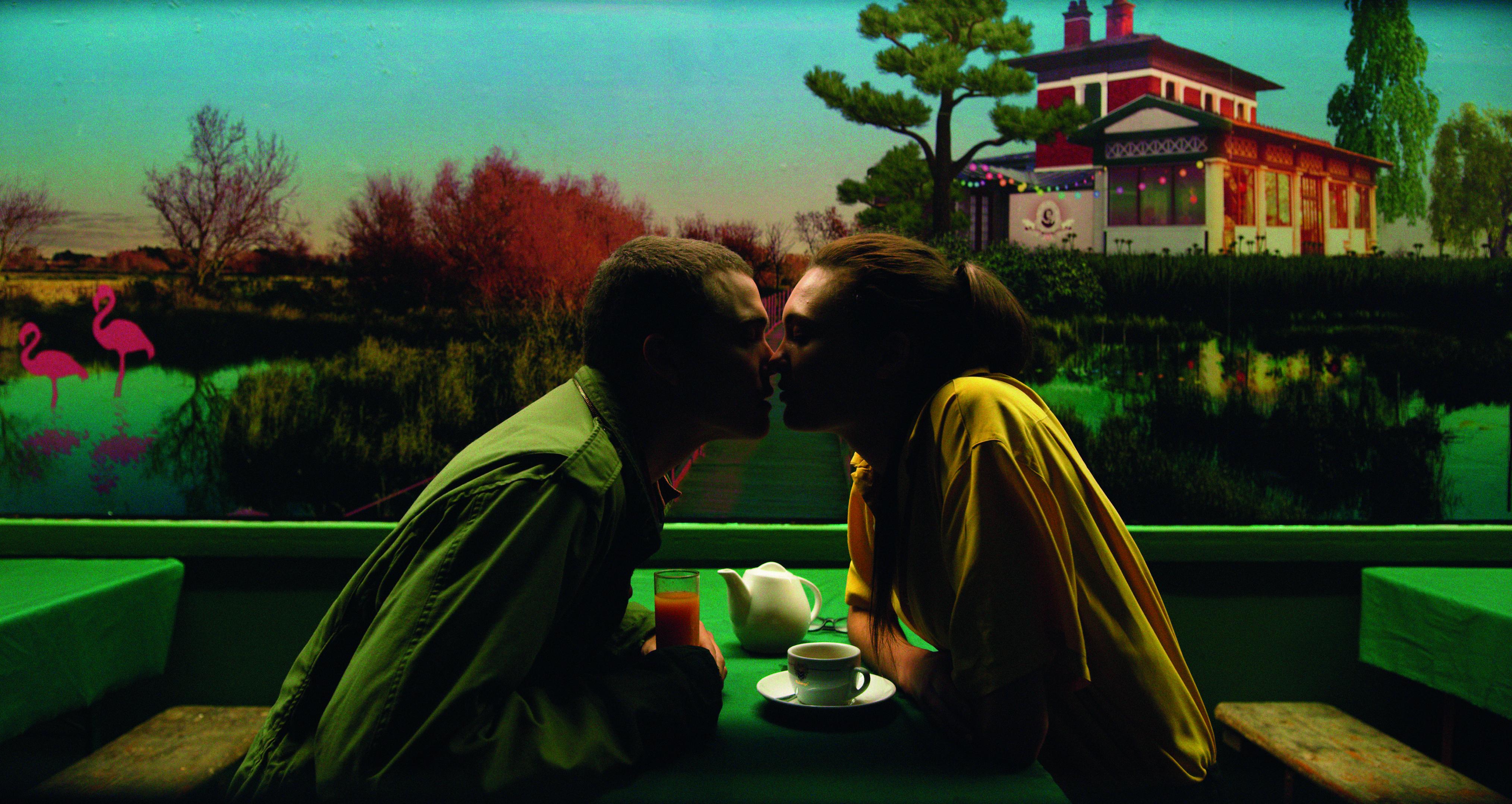 Karl Glusman as Murphy and Aomi Muyock as Electra in Alchemy's LOVE.