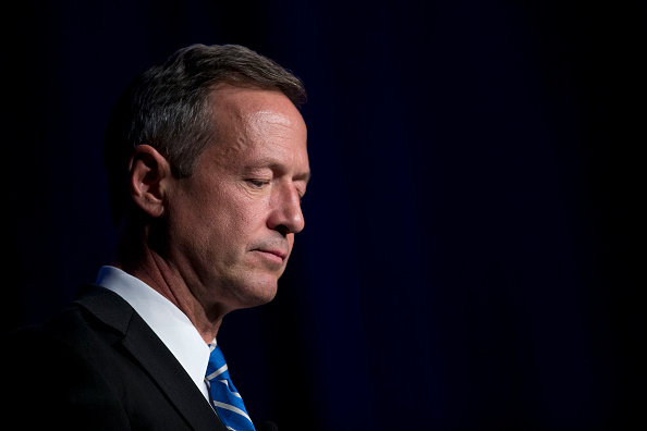 Martin O'Malley, former governor of Maryland and 2016 Democratic presidential candidate, pauses while speaking at the Congressional Hispanic Caucus Institute conference in Washington, D.C., U.S., on Wednesday, Oct. 7, 2015.