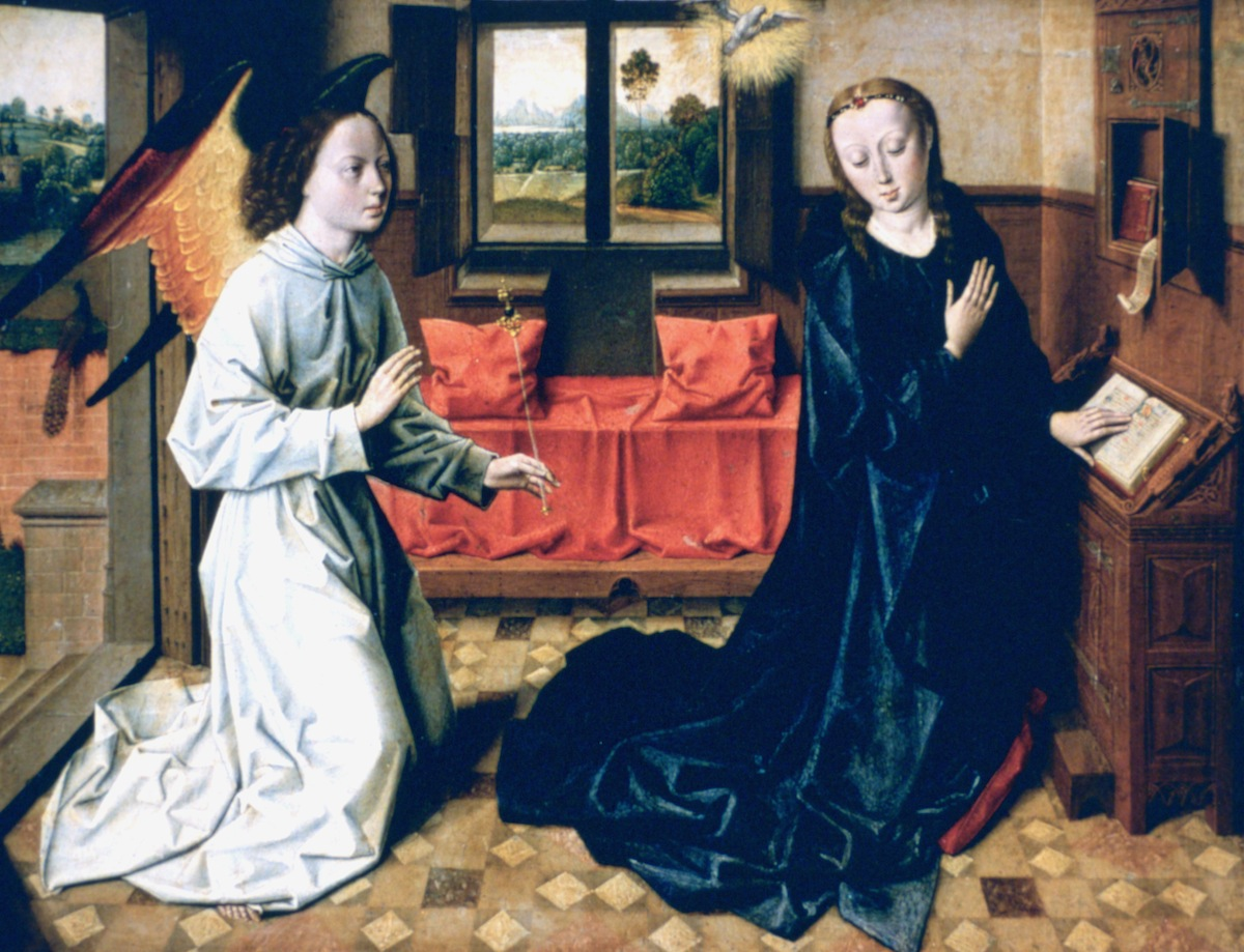 'The Annunciation', 1465-1470.