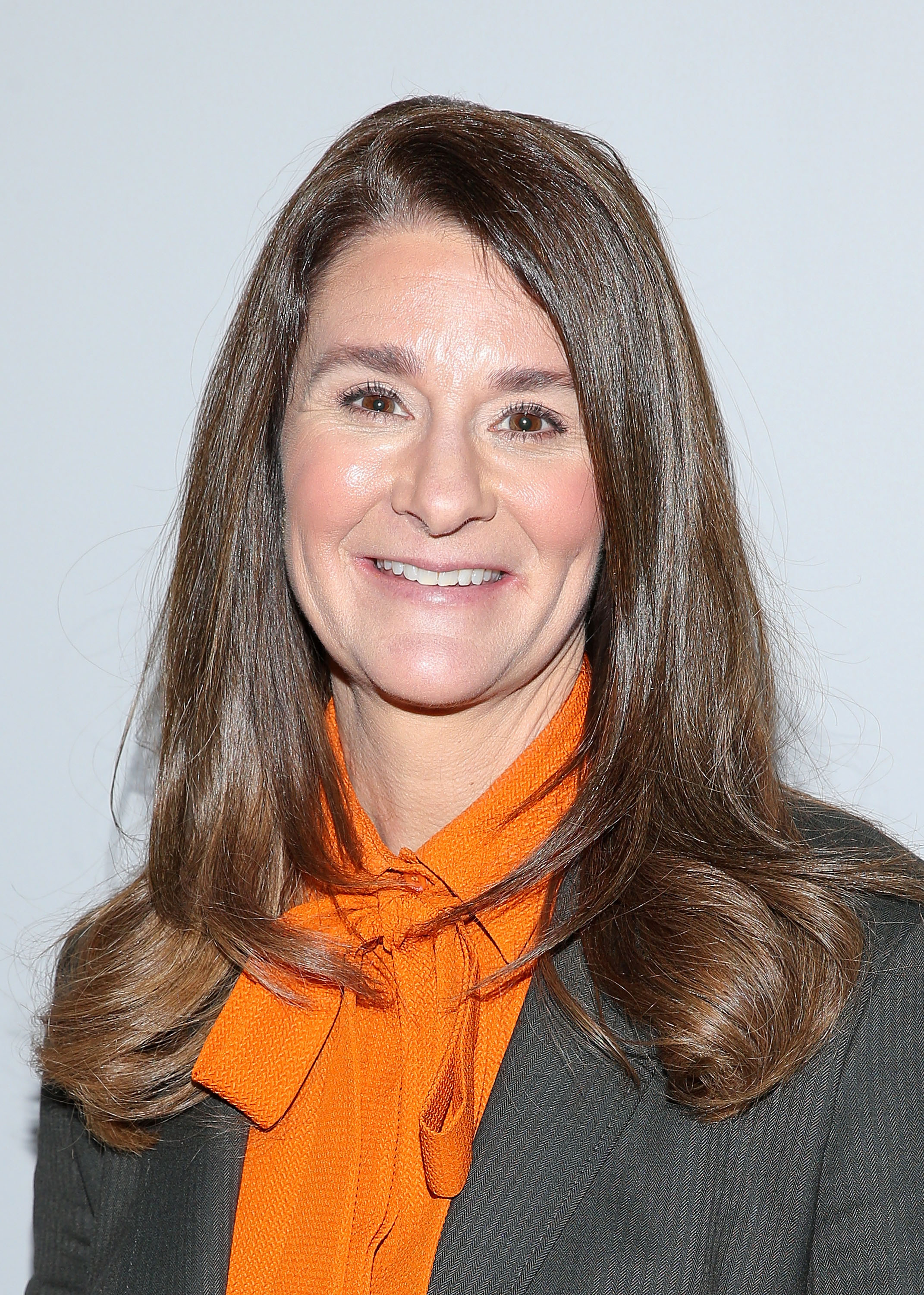 Melinda Gates at the AOL BUILD Speaker Series In New York City on March 10, 2015.