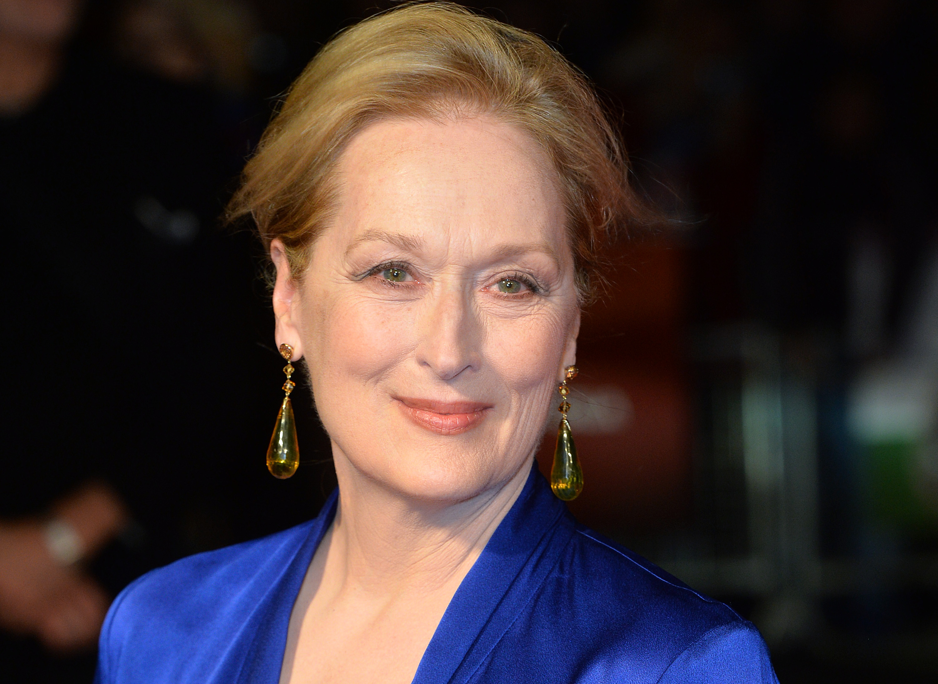 Meryl Streep at the screening of 'Suffragette' on the opening night of the BFI London Film Festival on Oct. 7, 2015.