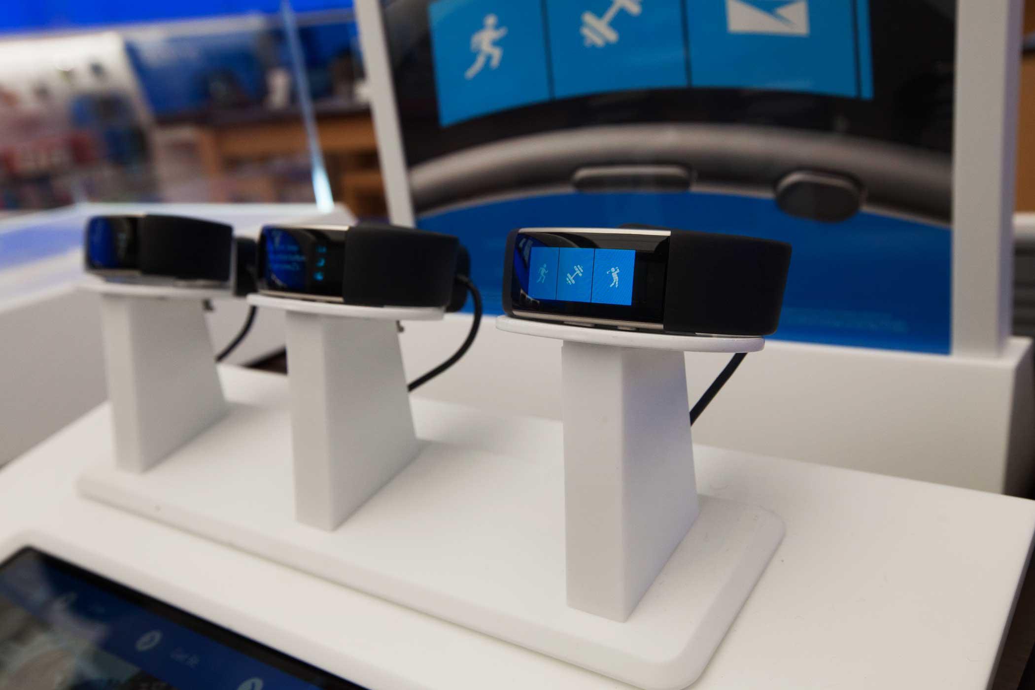 <b>Microsoft Store</b> Fitbit watches.