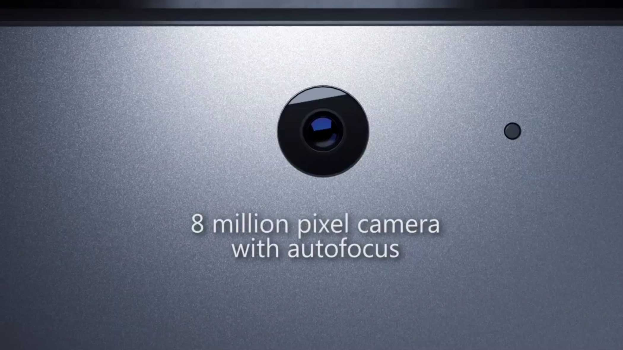 It's improved camera now has autofocus as well.