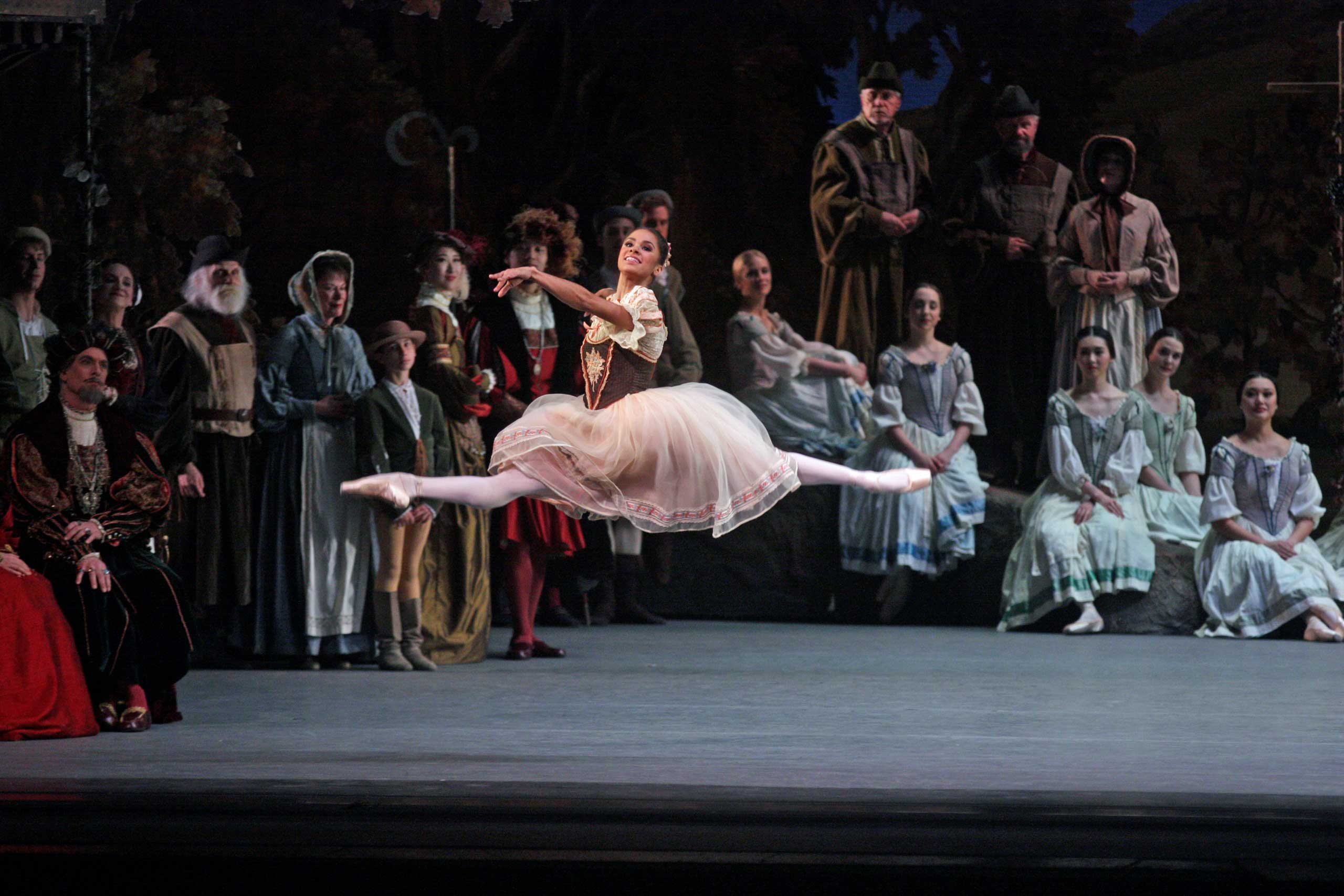 American Ballet Theater performing  Giselle  at Metropolitan Opera House on May 23, 2015.