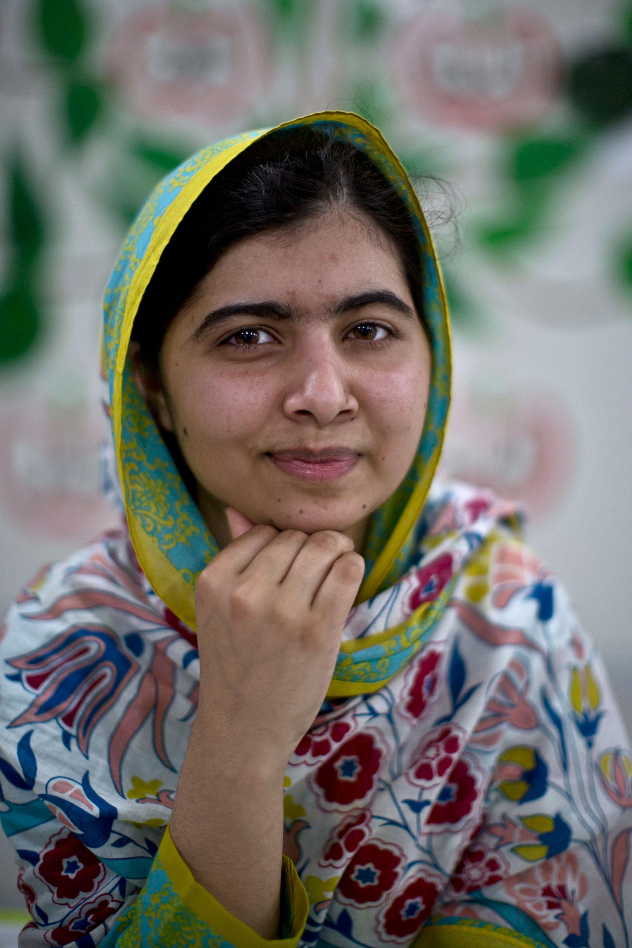Most Influential Teens 2015 Malala Yousafzai