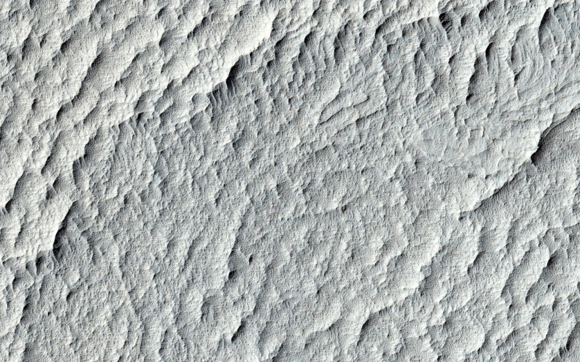 The Ares 4 Landing Site from The Martian