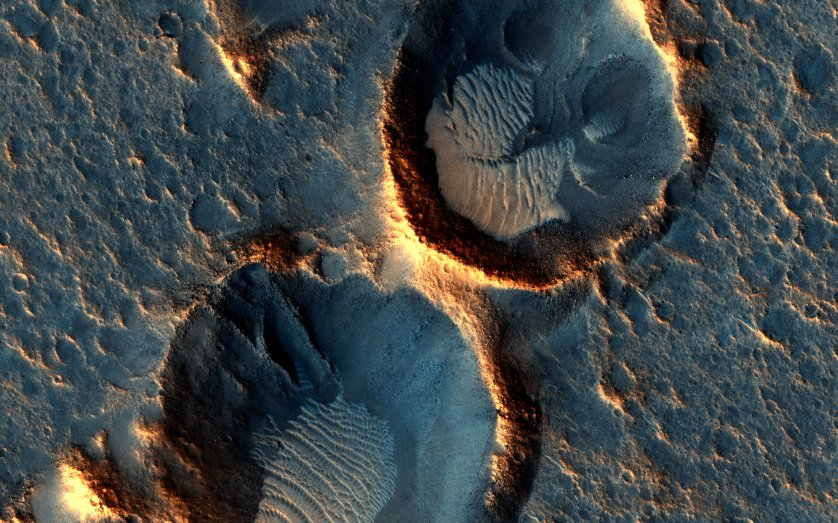 The Ares 3 Landing Site from The Martian