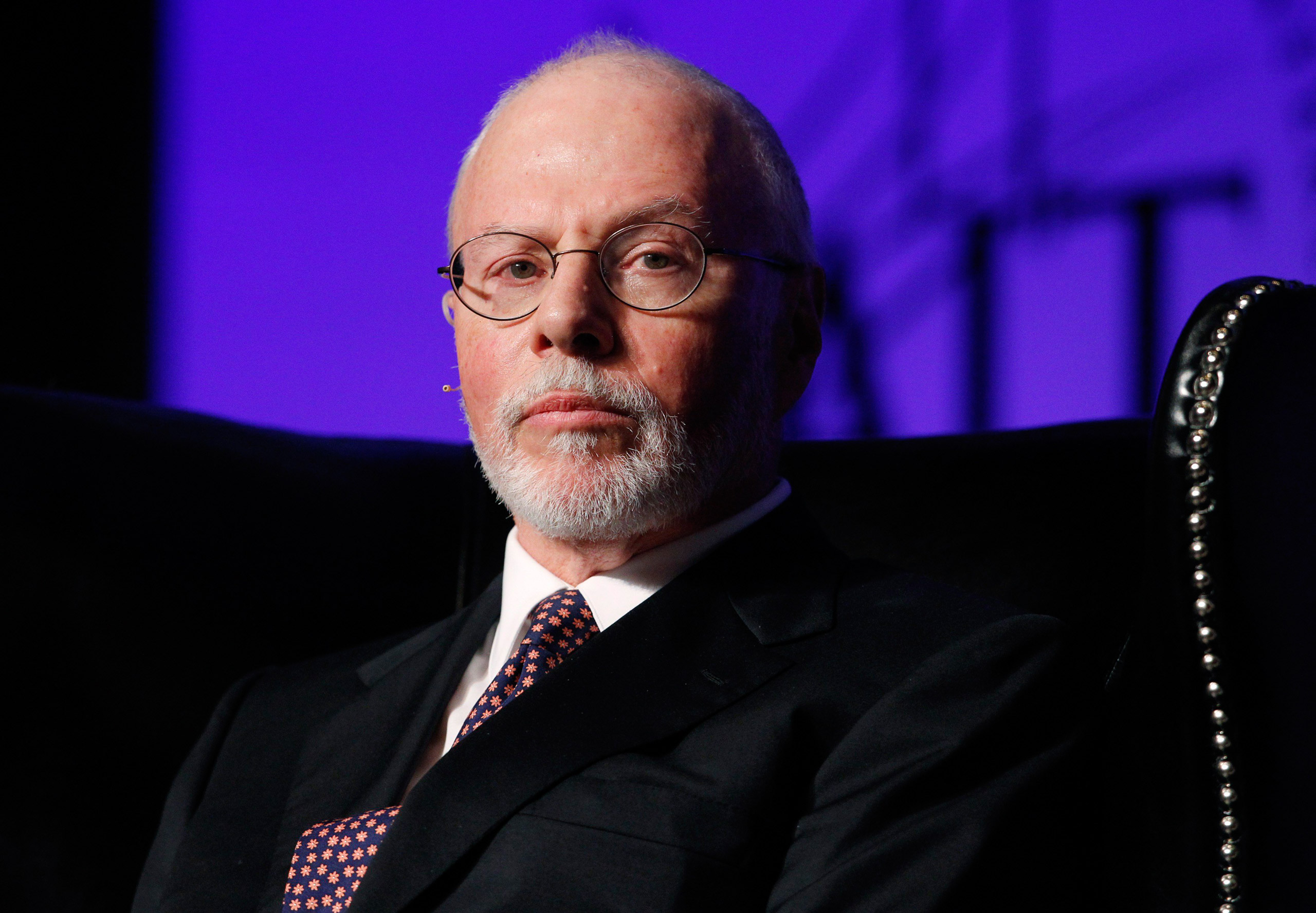Paul Singer, founder, CEO, and co-chief investment officer for Elliott Management Corporation, attends the Skybridge Alternatives (SALT) Conference in Las Vegas on May 9, 2012.