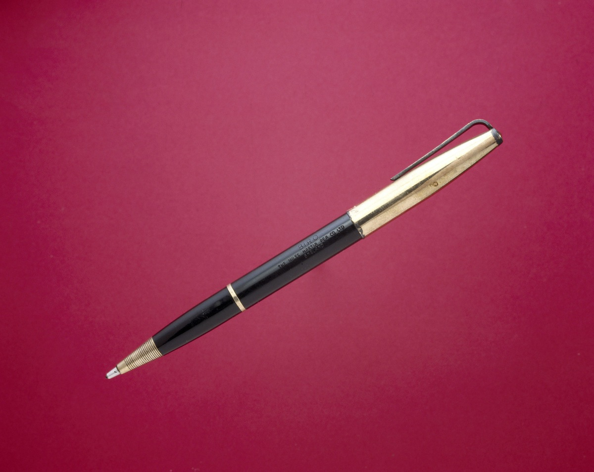 An early ballpoint pen, circa 1945