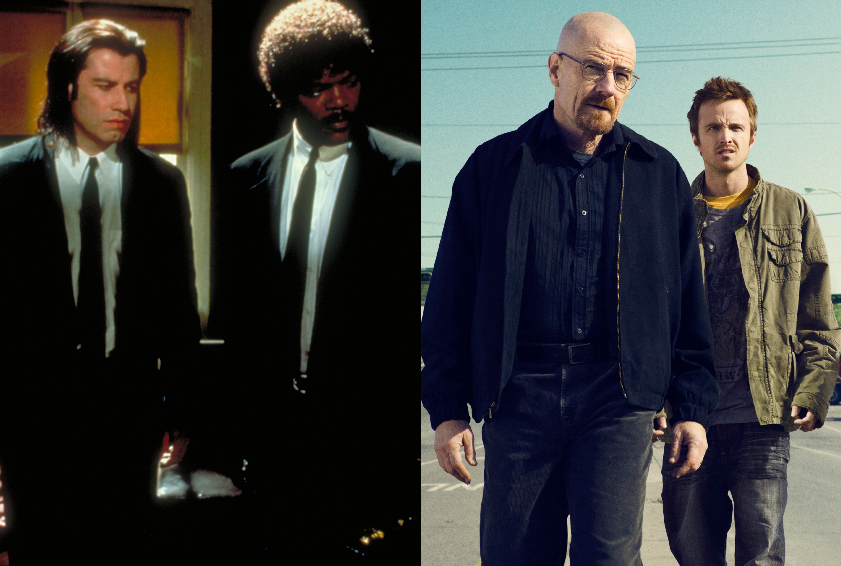 Pulp Fiction; Breaking Bad