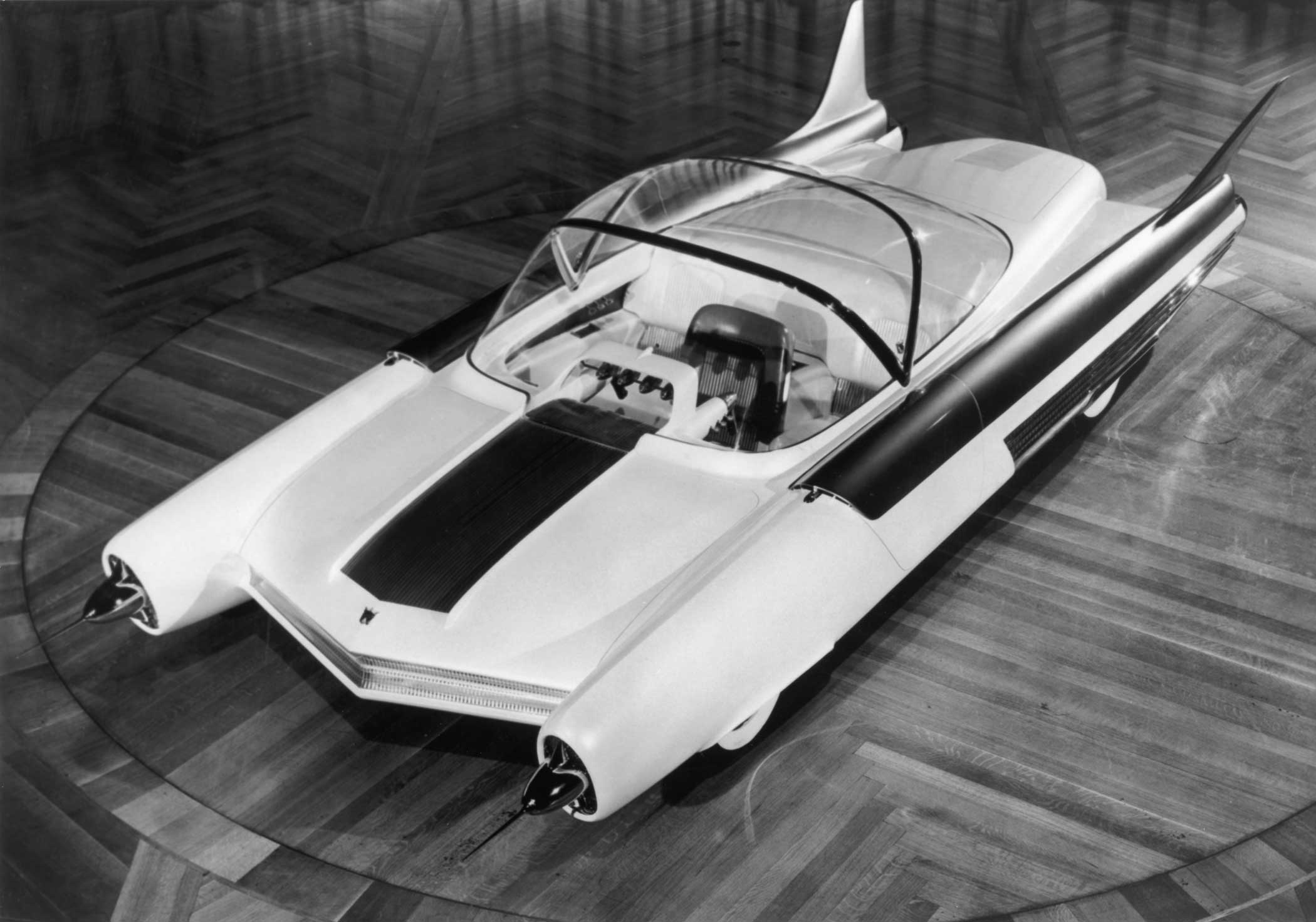 Ford's show 'car of the future', the Atmos. 1954.