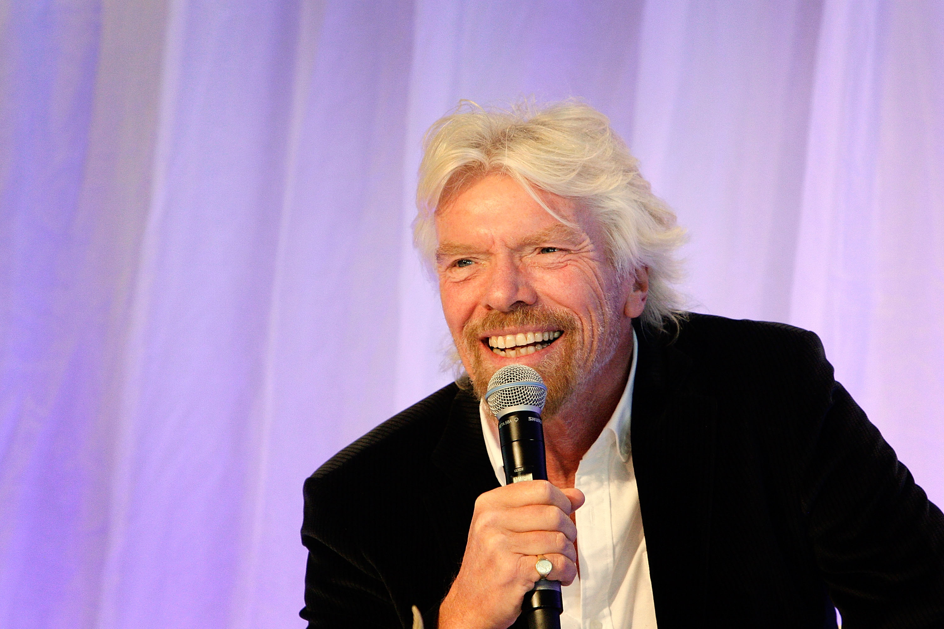 Richard Branson at the Talent Unleashed Awards 2015 in Sydney on Sept. 11, 2015.