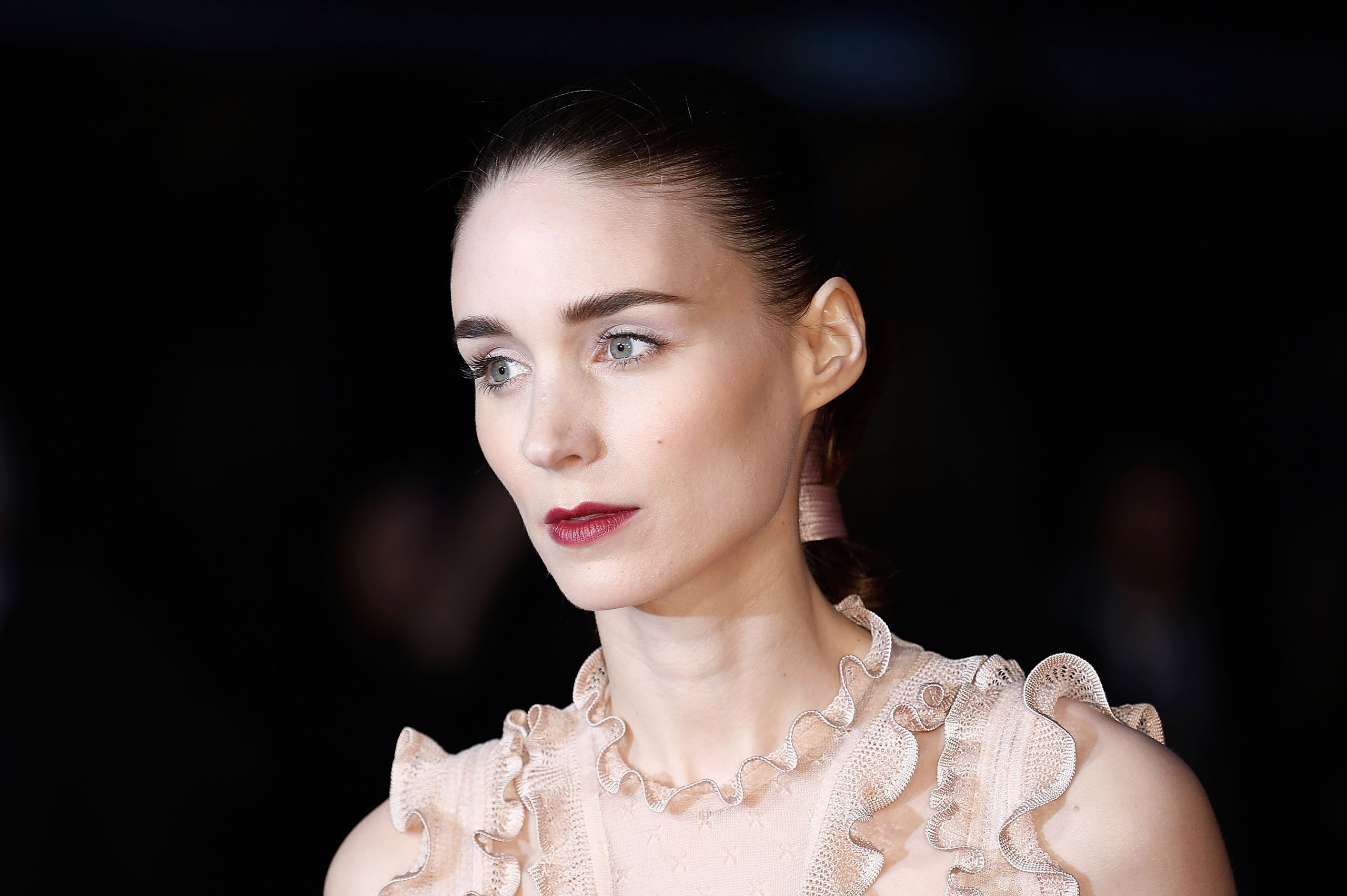Rooney Mara attends the  Carol  America Express Gala during the BFI London Film Festival in London on Oct. 14, 2015.