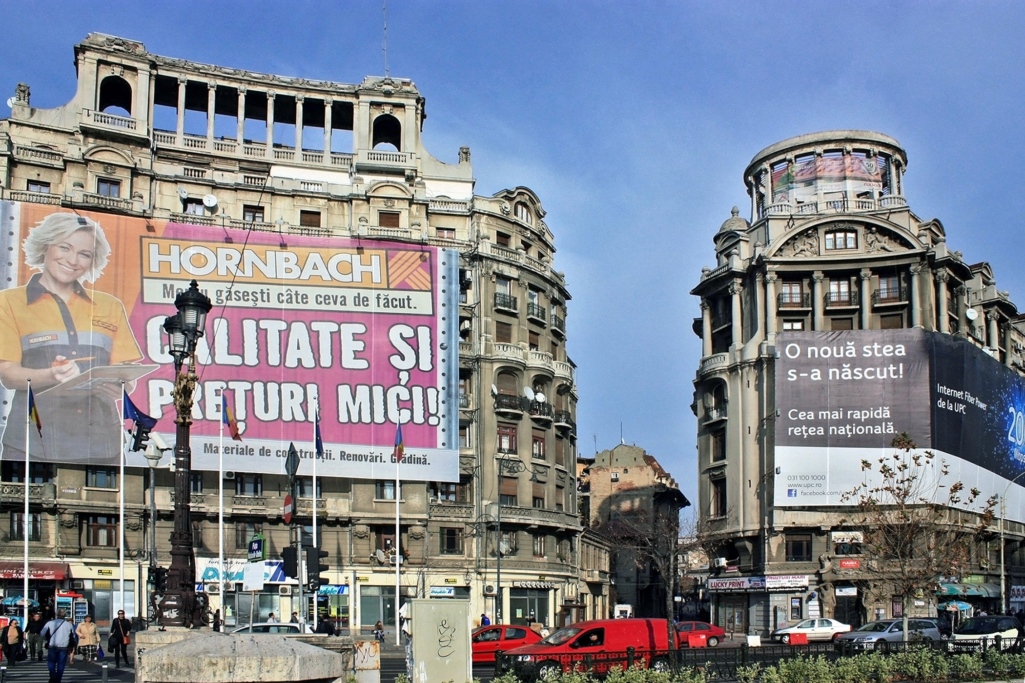 Romania, Bucharest: The urban environment of Bucharest is threatened by abandonment and demolition of historic buildings, uncontrolled development, and inappropriate rehabilitation.