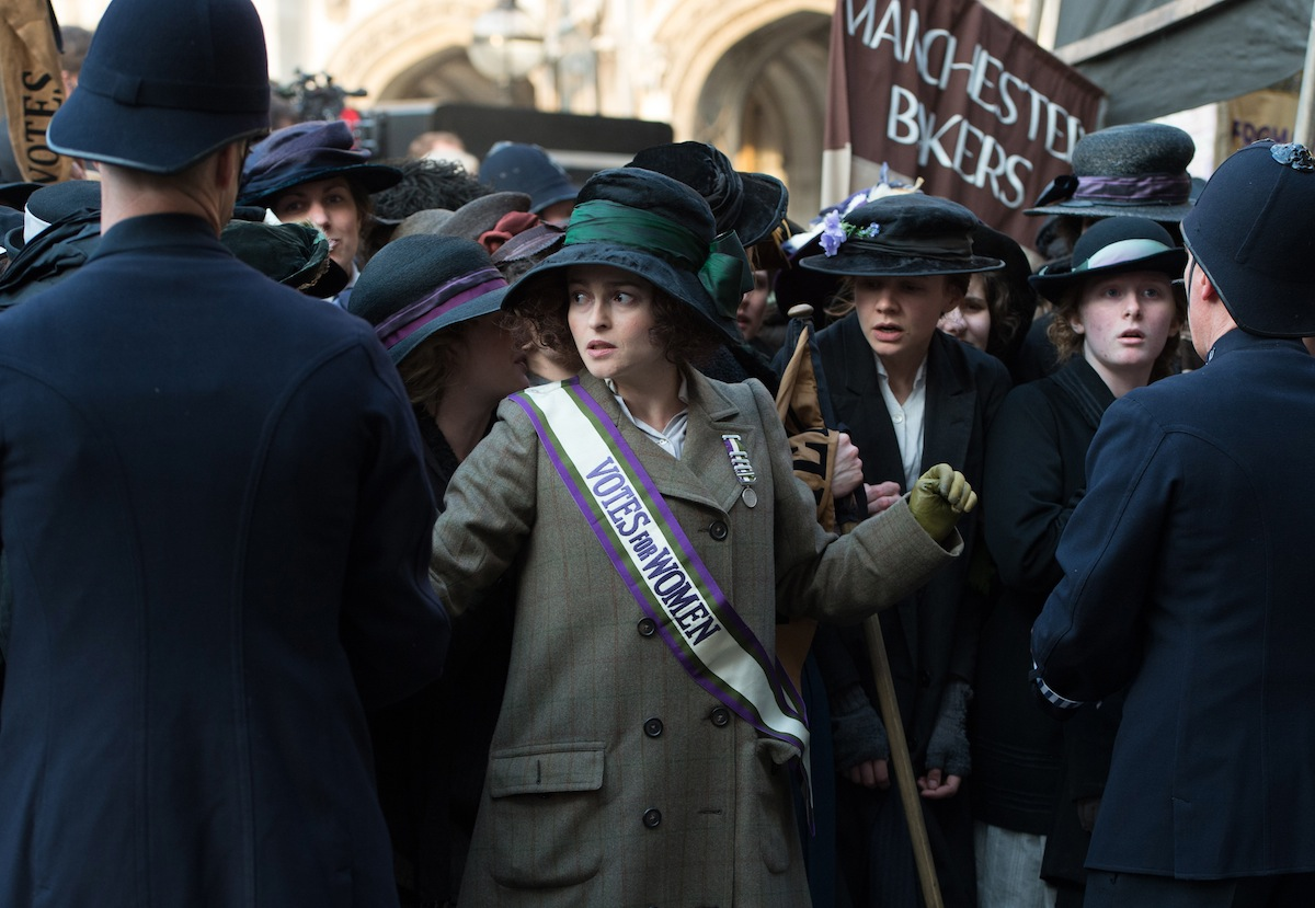 Helena Bonham Carter stars as Edith Ellyn in 'Suffragette'