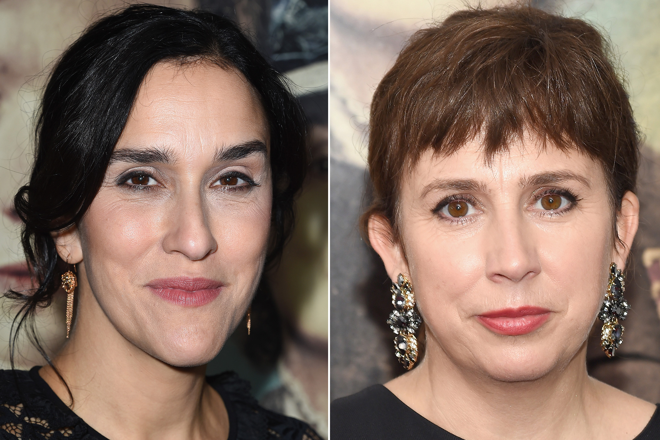 Sarah Gavron and Abi Morgan on Oct. 20, 2015 in Los Angeles.