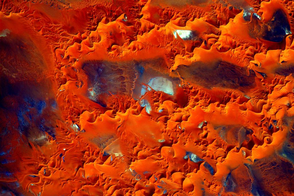 #EarthArt Across the Greatest Desert- #Sahara #YearInSpace  - via Twitter on Oct. 17, 2015