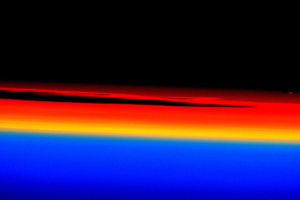 #GoodMorning sunshine! The horizon was brilliant this morning. #YearInSpace  - via Twitter on Oct. 21, 2015