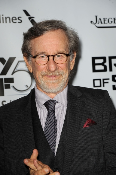 Steven Spielberg at the 53rd New York Film Festival premiere of 'Bridge Of Spies' on Oct. 4, 2015.