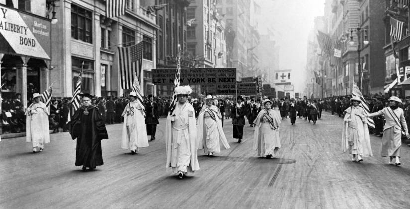 Women's Suffrage History: A Real Milestone That Just Hit 100 | Time