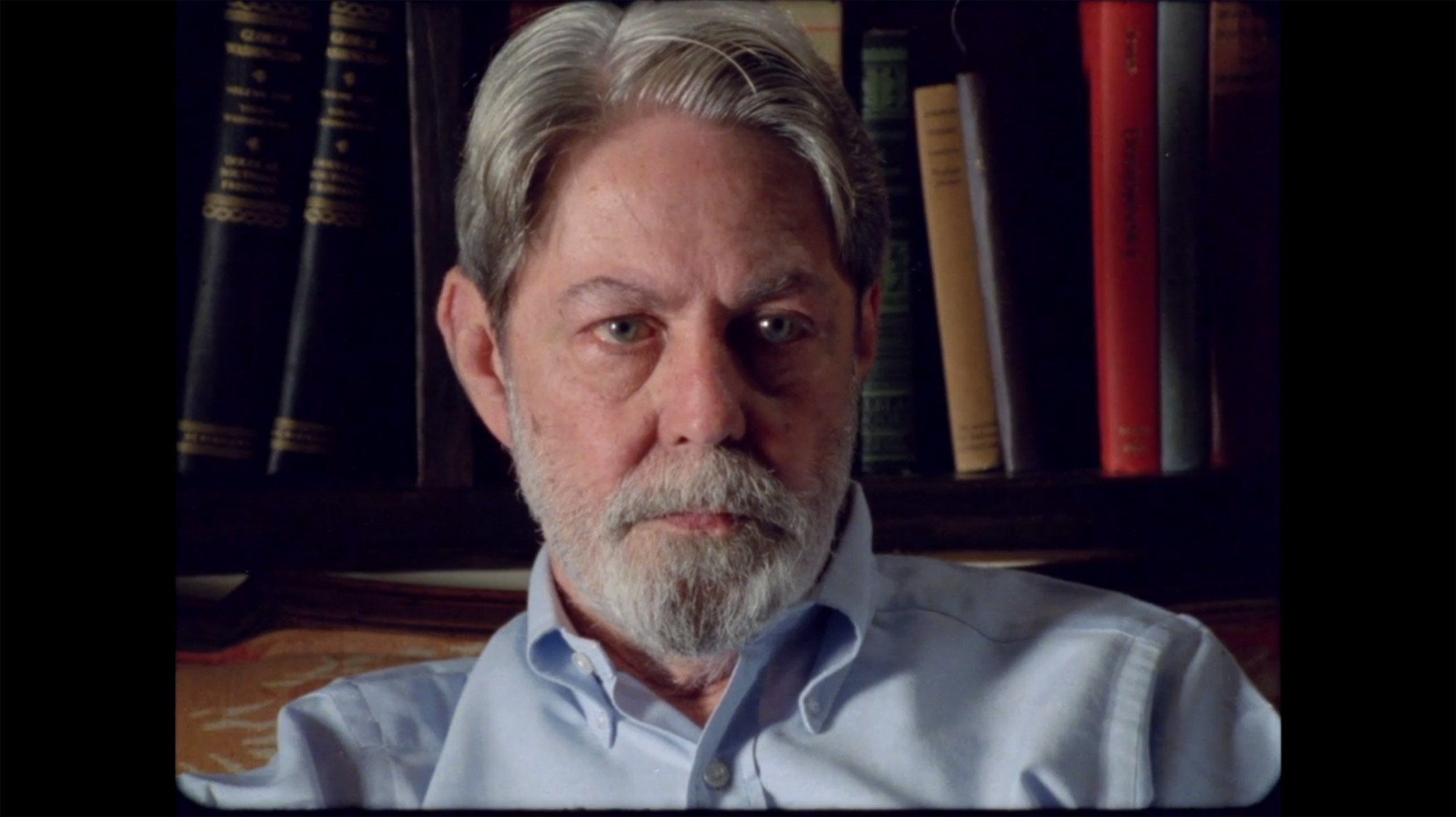 Confederate General Shelby Foote not as cute as Beatle wigged Ken Burns