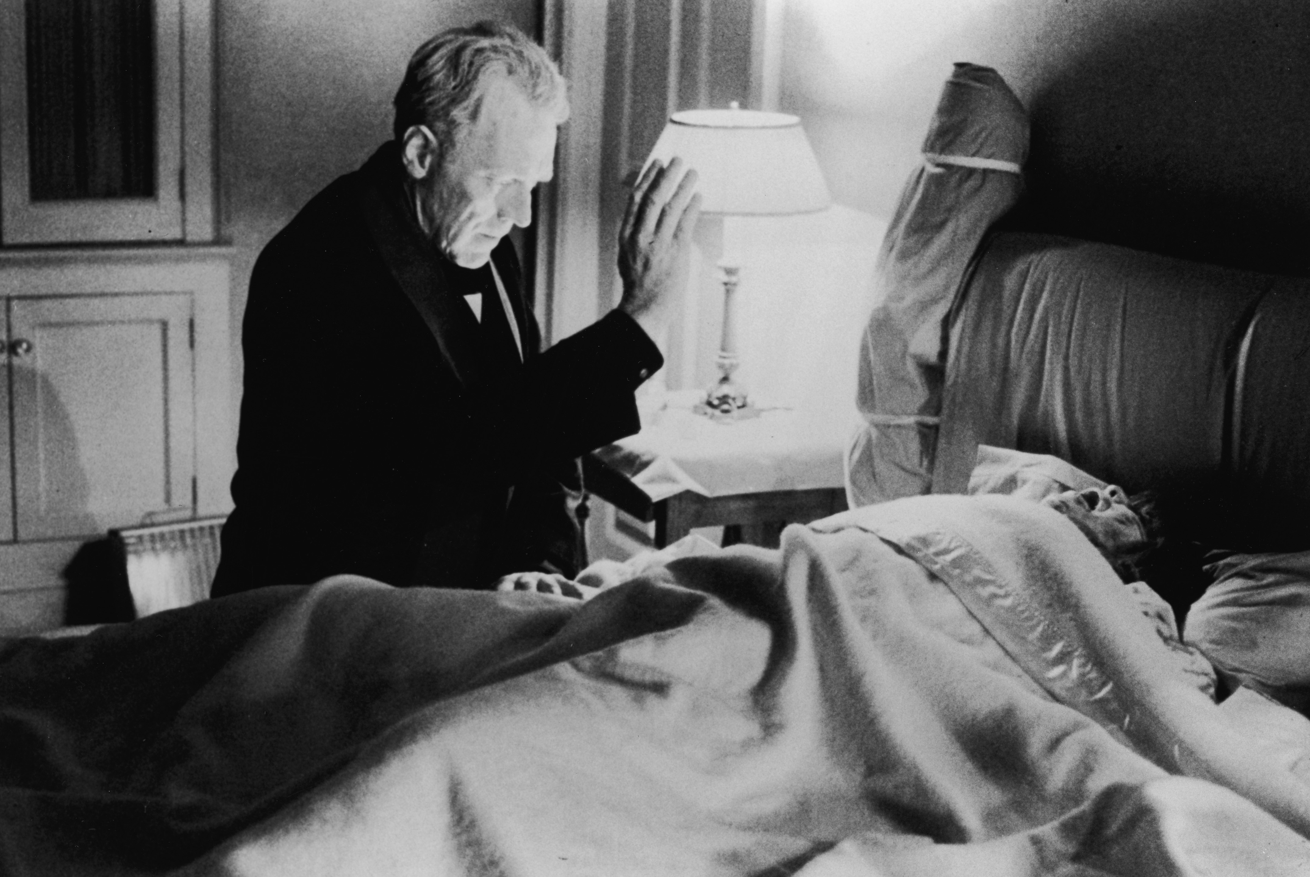 A still from the film The Exorcist