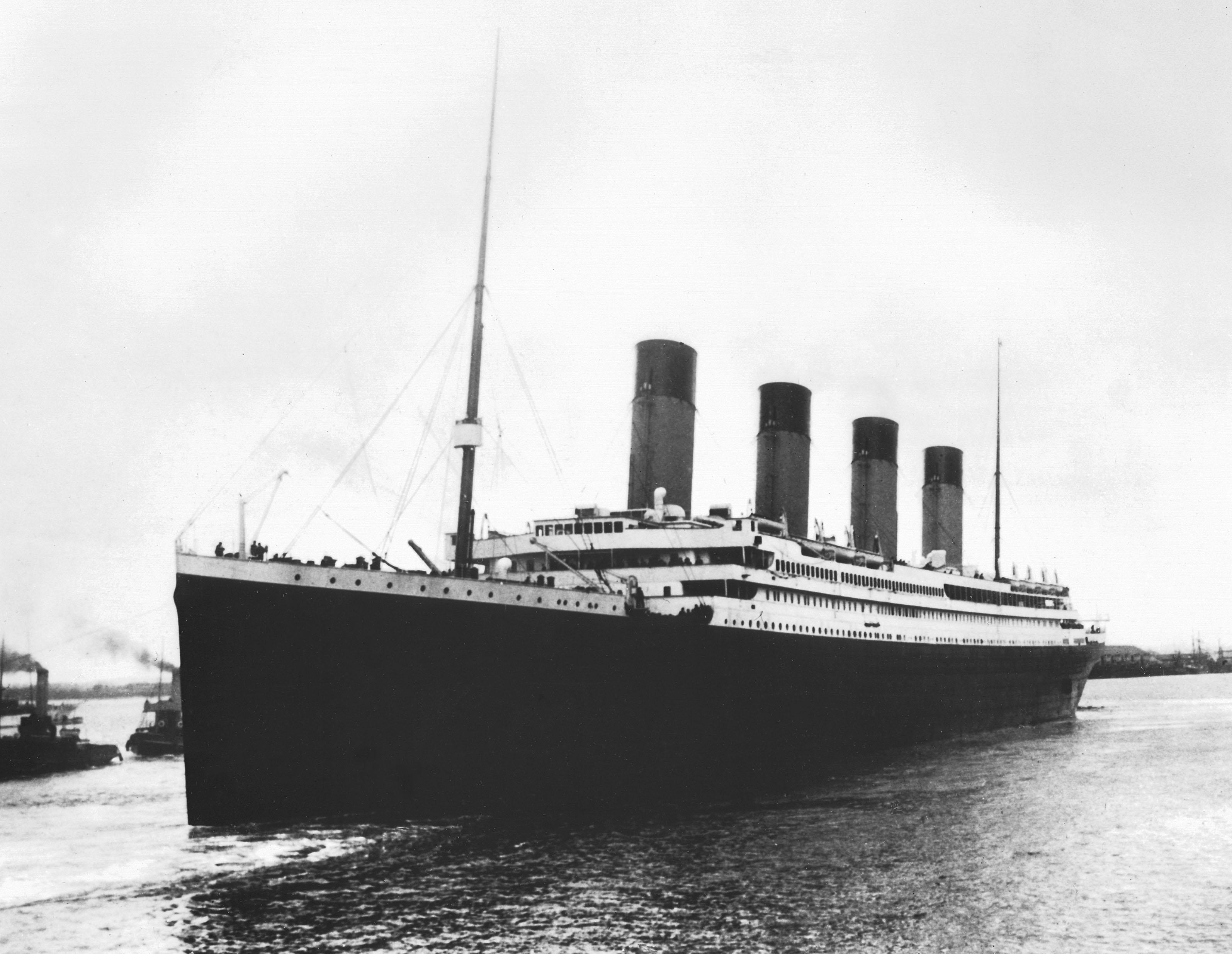 The Titanic in 1911.