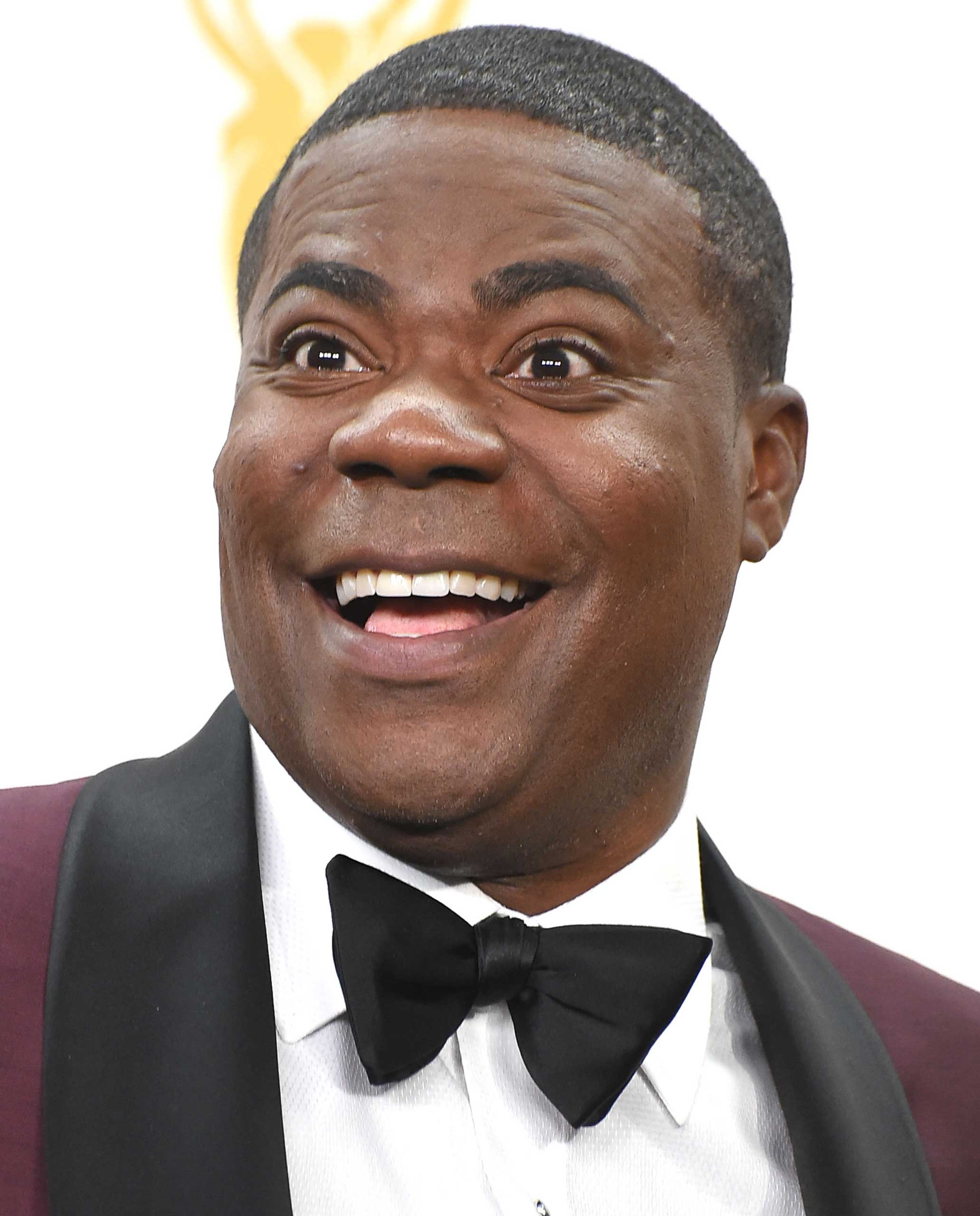 Tracy Morgan poses at the 67th Annual Primetime Emmy Awards at Microsoft Theater in Los Angeles, on Sept. 20, 2015.