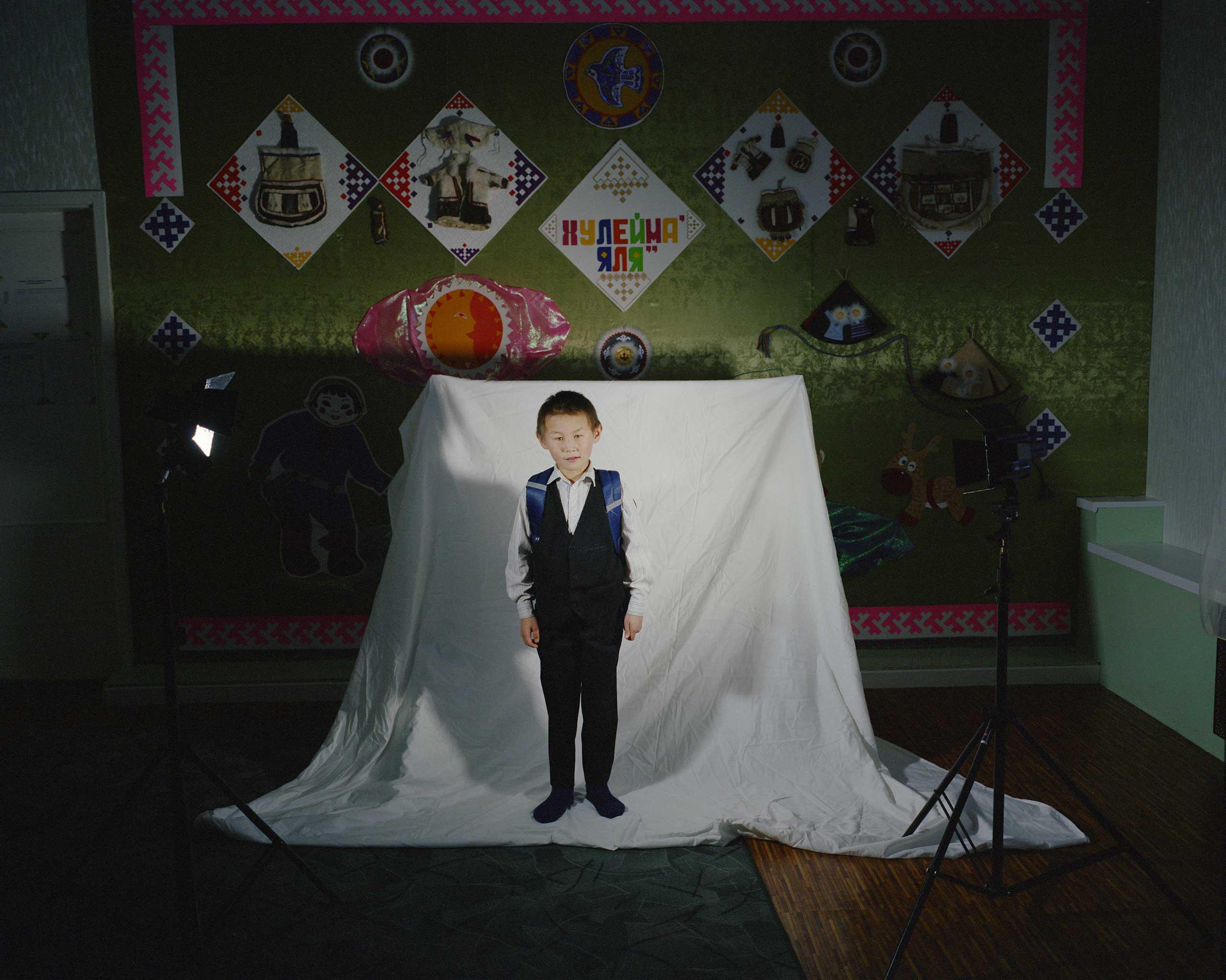 Portrait of a boy.