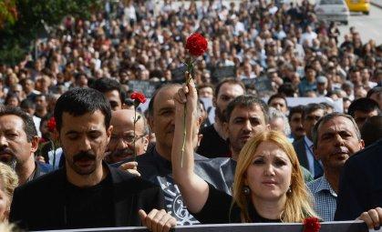 Turkey Ankara attack march