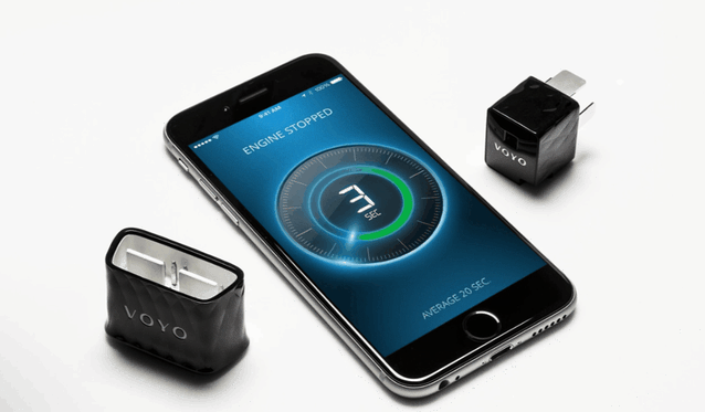 Voyo's dongle lets you control certain aspects of your car from your phone.