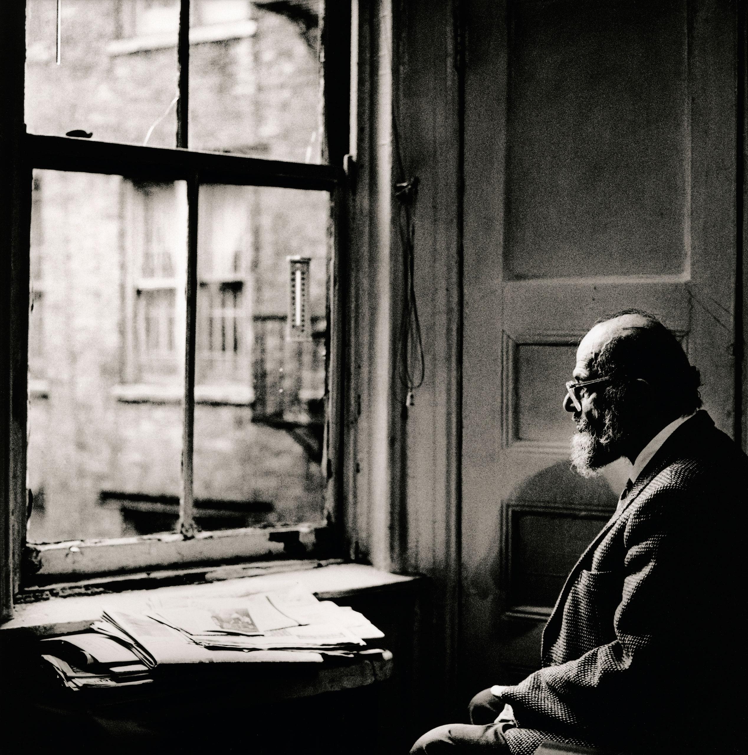Allen Ginsberg, New York 1996