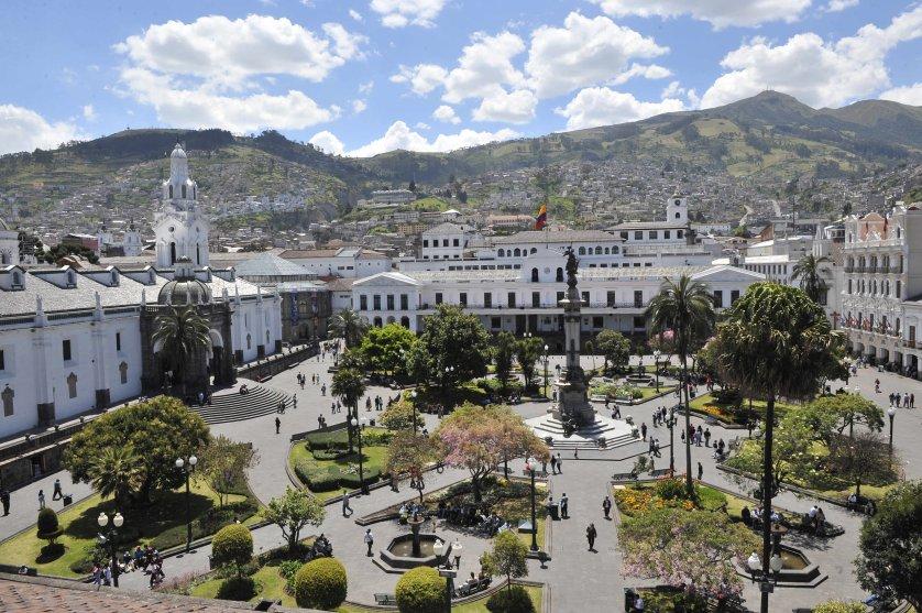 ECUADOR-CULTURE-UNESCO-HERITAGE-QUITO