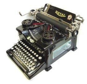 Royal No. 10 typewriter
