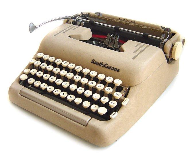 Smith-Corona Silent-Super typewriter