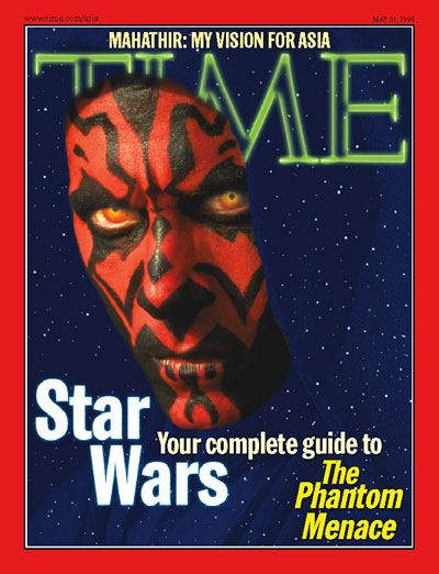 The May 31, 1999, Asia edition of TIME magazine
