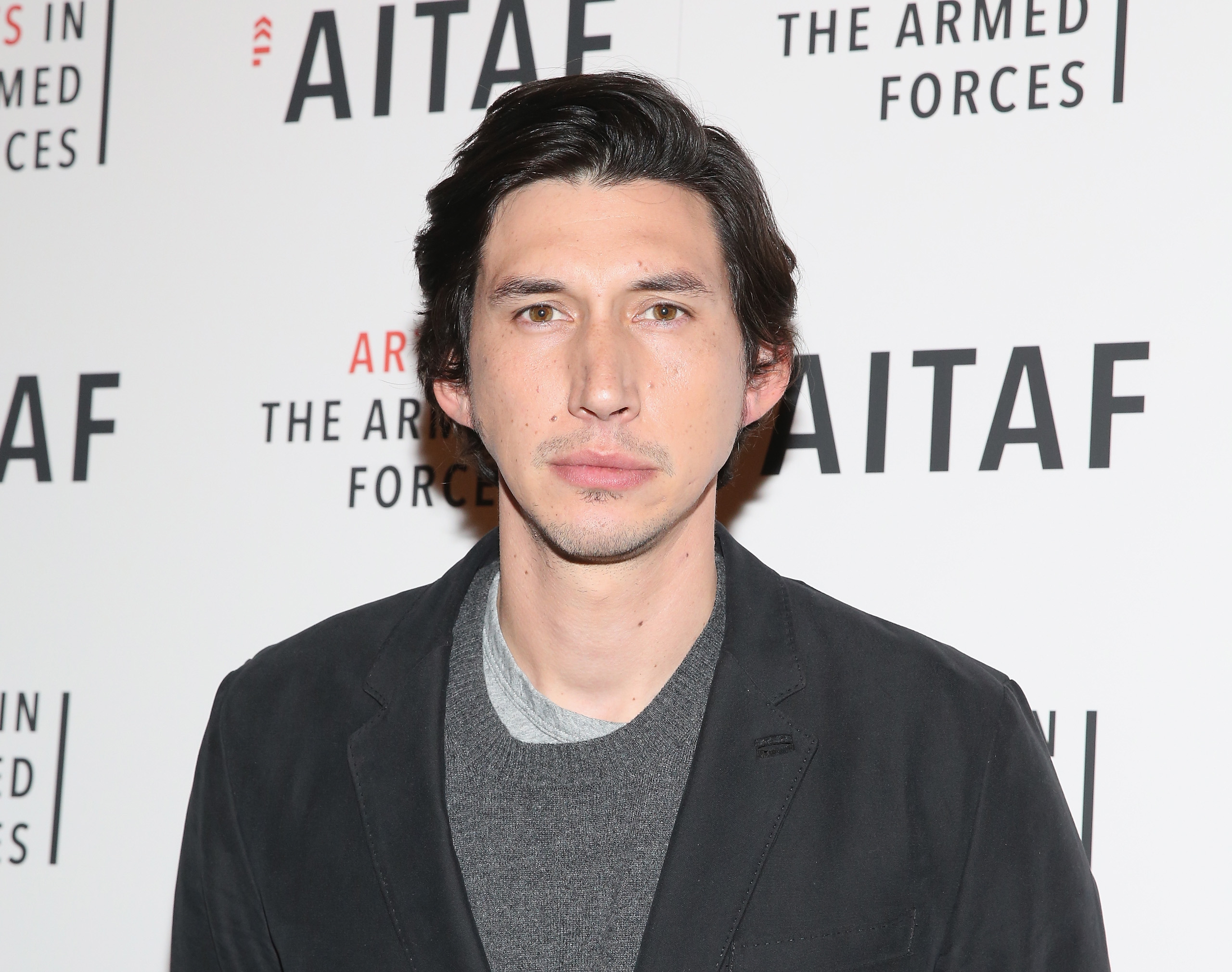 Adam Driver is seen on Nov. 9, 2015 in New York City.