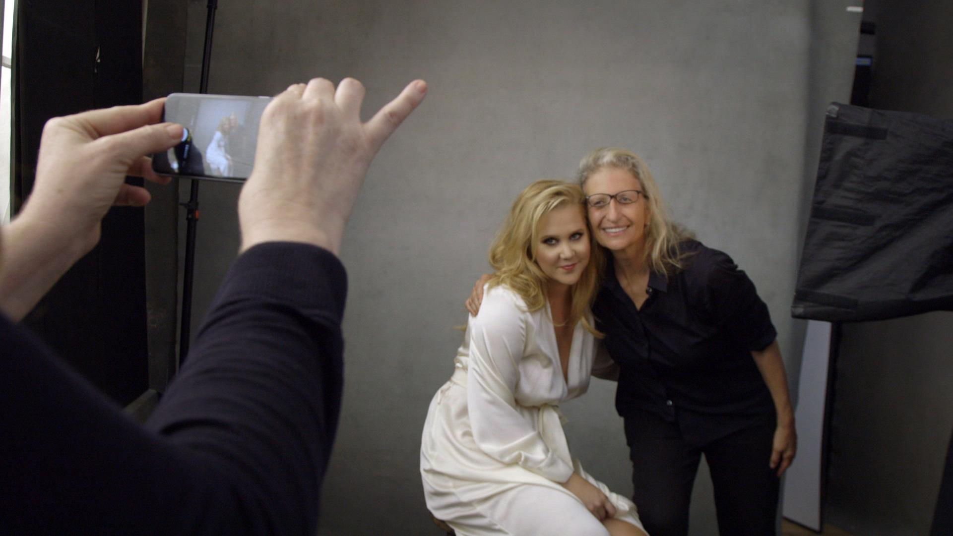 Amy Schumer and Annie Leibovitz.
