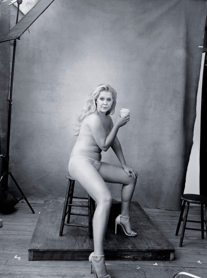 Amy Schumer in the 2016 Pirelli Calendar.