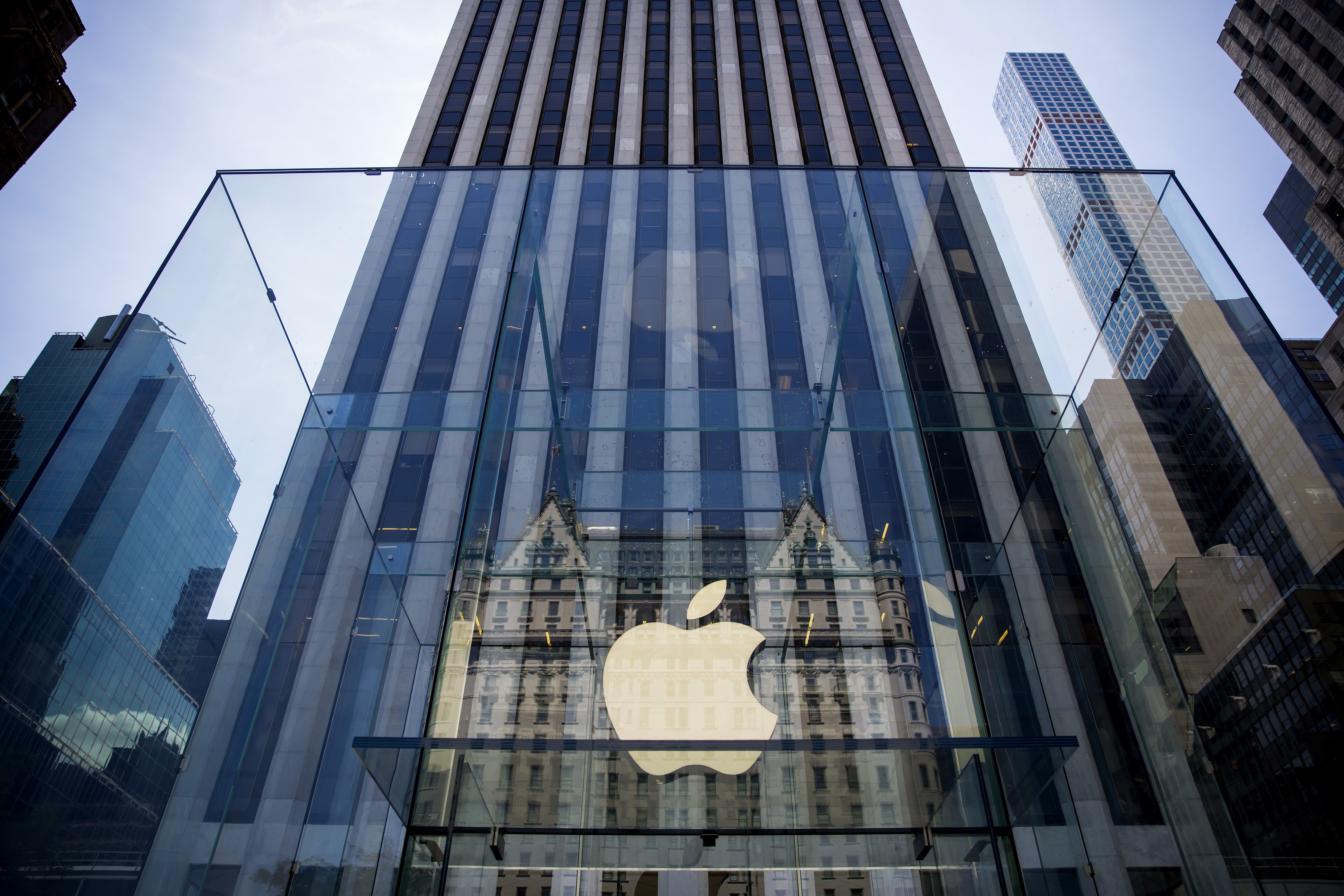The Apple Store on Fifth Avenue in New York City on June 17, 2015.