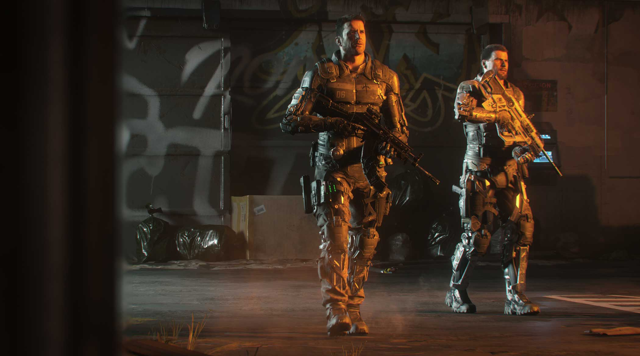 Call of Duty: Black Ops 3 Design Process:  We're most proud when our technology enables gameplay or player expression, such as battling through the dynamic water or creating unique weapon skins.  - Mark Gordon, VP of Development & CTO, Treyarch