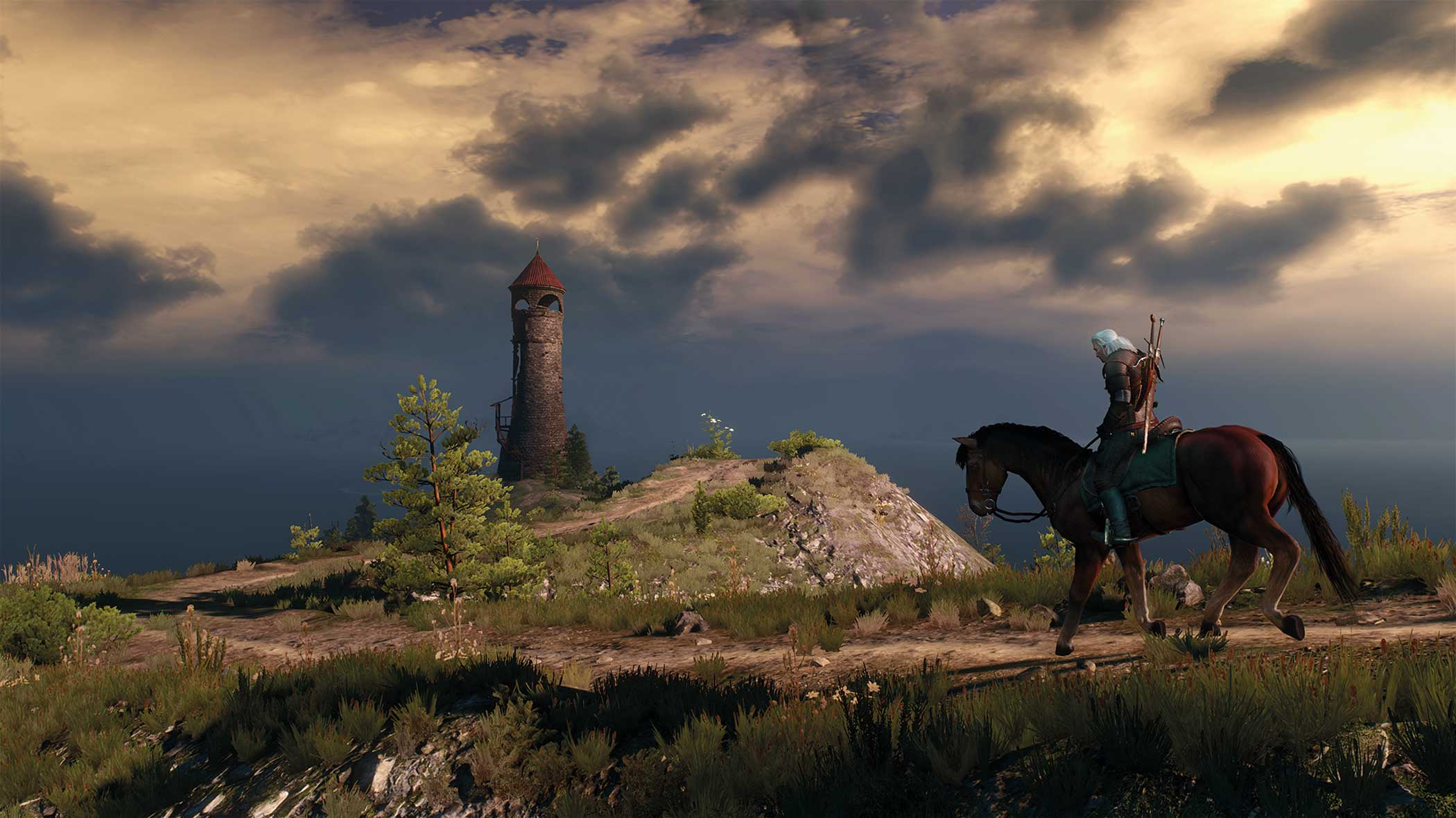 """<b>The Witcher 3: Wild Hunt</b> Design Process: <i>""""We took inspiration from various cultures and places. No Man's Land, one of the biggest areas to explore in the game, is very Slavic at its heart<i> – it's filled with ancient secrets, murky swamps and dense, dark forests.""""</i> - Jose Teixeira, Senior Visual Effects Artist, CD Projekt RED"""