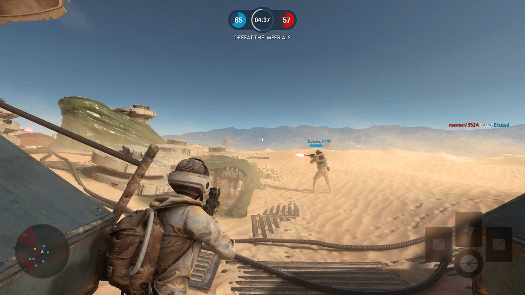 """<b>Star Wars Battlefront</b> Design Process:<i> """"We wanted to build a game that was faithful to the Star Wars we love, using a combination of the latest technology, with talented artists who could put it together in a way that feels immersive and inviting.""""</i> - Johannes Soderqvist, Art Director, Star Wars Battlefront"""