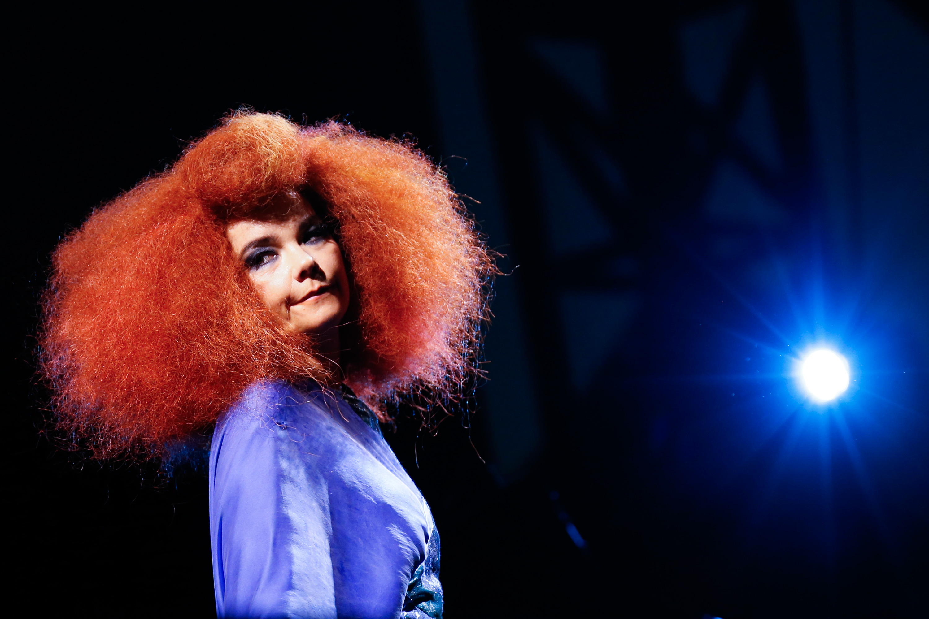 Björk performs in Ottawa, Canada on July 13, 2013.