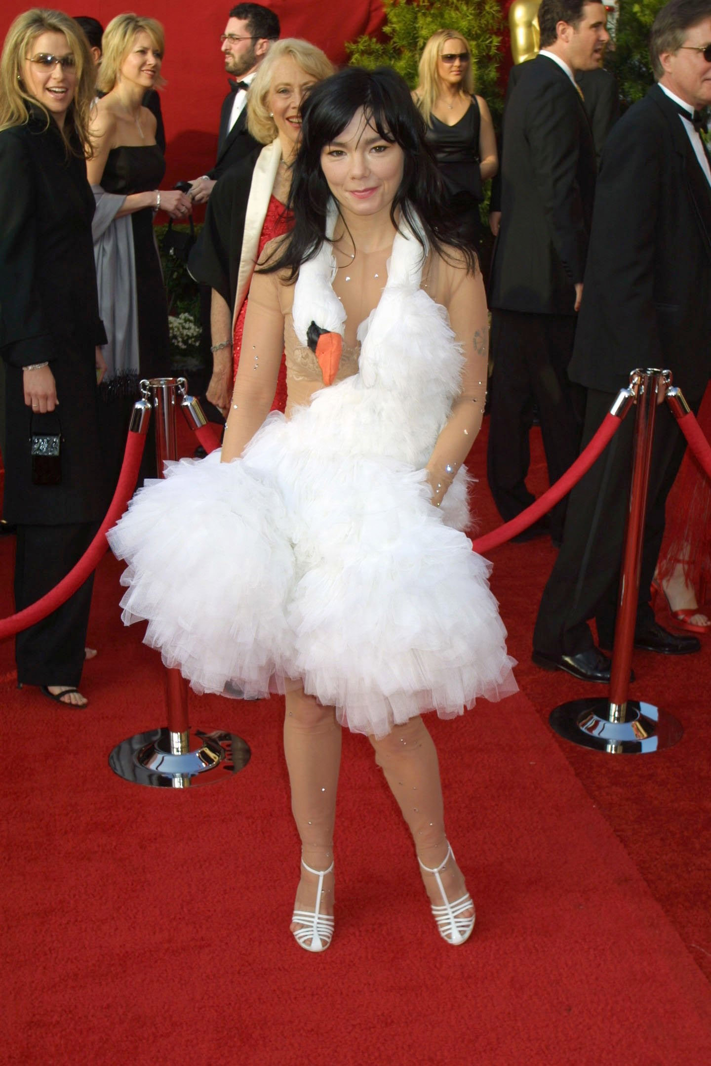 Björk at the 73rd Annual Academy Awards in Los Angeles on March 25, 2001.